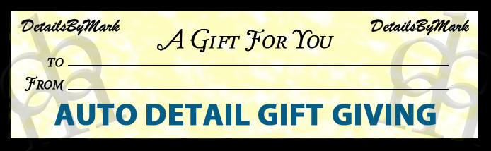 auto detail gift