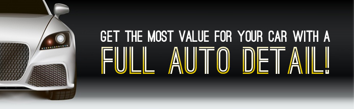 Full auto detail value for car owners