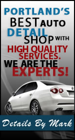 Details By Mark is your answer to auto detailing services in Portland. Bring your car in for everything from exterior to interior automotive detailing service.